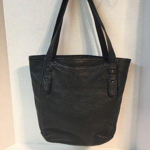 The Sak, Black Pebble Leather Tote GUC
